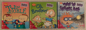 Rugrats Book Club books, 1999. (Lot of 3). 6 Stories total.