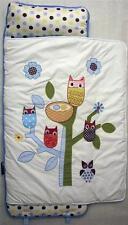 SoHo Nap Mat Blue owl tree (All Hand Embroidery)
