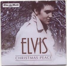 ELVIS PRESLEY - CHRISTMAS PEACE: UK PROMO CD: 15 TRACKS - BLUE CHRISTMAS ETC
