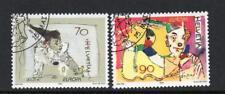 SWITZERLAND USED 2002 SG1503-1504 EUROPA - CIRCUS