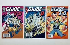 G.I. JOE 3-D #1-3 (Blackthorne 3-D Series), 1987, w/3-D Glasses, NM-M, 9.6-9.8