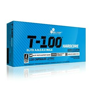 OLIMP T-100 Hardcore 120 Caps STRONG TESTOSTERONE TESTO BOOSTER
