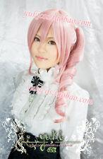 Cosplay Perücke X110 Final Fantasy XV Serah Farron Pink lang Anime haar