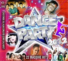 Dance Party 2012 NEW SEALED CD + DVD 22 MASSIVE HITS INC TULISA,JESSE J + MORE