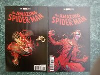 AMAZING SPIDER-MAN 795 & 796 2ND PRINTS LOT OF 2 RED GOBLIN NM (MARVEL COMICS)