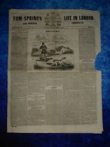 1842 Tom Spring's Life In London And Sporting Chronicle December 18th Vol 2 No28