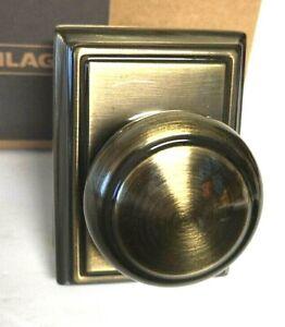 """Schlage Allegion Hall and closet door """"knob"""" F10 609 NEW"""