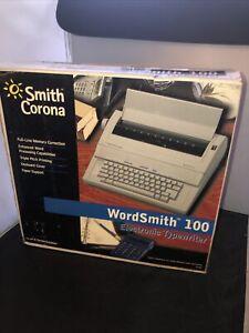 Smith Corona Wordsmith 100 Electronic Typewriter BRAND NEW IN BOX! RARE!