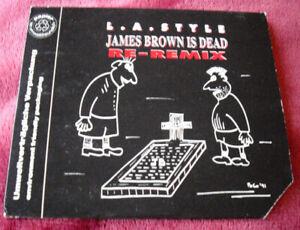 L.A. Style - James Brown is dead (Re-Remix | 2er Track) [Maxi-CD 1991] Rarität!!