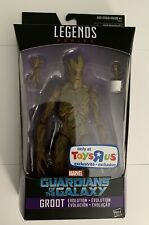 2016 Marvel Legends Guardians of the Galaxy GROOT Evolution TOYS R US Exclusive