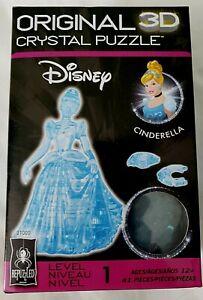Disney Cinderella 3D Crystal Puzzle 41-piece BePuzzled Hanayama