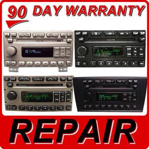 REPAIR 98-04 Ford Explorer Mustang Navigator Mercury Mountaineer 6 CD Changer