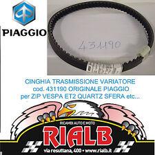 431190 CINGHIA TRASMISSIONE ORIGINALE PIAGGIO 50 ZIP / BIMODALE / FAST RAIDER