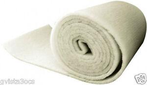 """2"""" Thick Universal Pond Filter Mat/Media/Roll 24""""x56""""-koi fish-coarse-bulk-foam"""