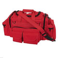2659 ROTHCO RED AND WHITE E.M.S RESCUE BAG EMT EMERGENCY BAG EMS EMT BAG RED