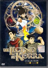 Avatar Legend of Korra Complate Collection ( book 1 - 4 ) DVD English Version R0