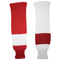Detroit Red Wings Knitted Classic Hockey Socks - Red White