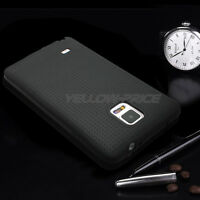New Luxury Ultra Thin Matte Back Cover Soft Case+3-Pack Films For GALAXY NOTE 4