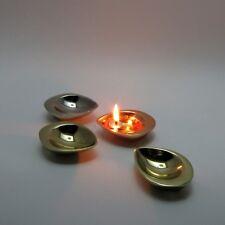 Set of 2.diya,oil lamp,puja,pooja accessory,India wedding favor gift ,temple
