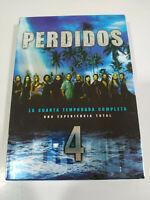 Perso Lost Stagione 4 Completa 6 X DVD Regione 2 + Extra Spagnolo Inglese