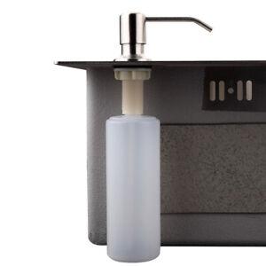 Kitchen Sink Soap Dispenser 360° Swivel Head Plastic Liquid Pump Bottle 300ml
