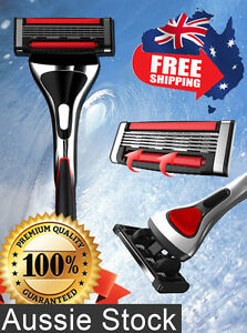 Schick Hydro Compatible Razor Metal Handle 2 x 5-Blade Trimmer Cartridges Shave