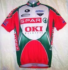 Vermarc Sport Red, Green & White Short Sleeve Shirt Men's Cycling Jersey Xxl / 6