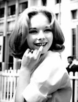 Jill Haworth smiling. - 8x10 photo
