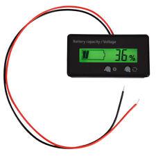 6V-70V LCD Anzeige Spannung Meter Batteriekapazität Spannungsmesser mit Kabel