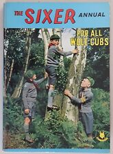 The Sixer Annual 1963 Hardcover Wolf Cubs Scouts