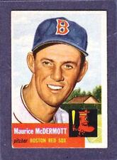 1953 Topps - #55 Maurice McDermott Boston Red Sox - EX