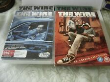 4 DVDS FIRST 4 SEASONS OF THE WIRE V/GCONDITION.