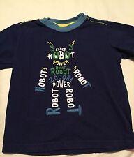 Gymboree Do The Robot Boys Short Sleeve Shirt Size 18-24 Months