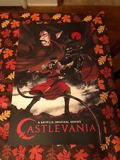 CASTLEVANIA Netflix NYCC COMIC CON EXCLUSIVE POSTER Belmont Vlad Dracula Tepes