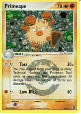 POKEMON EX FIRERED AND LEAFGREEN EXPANSION RARE FOIL CARD 28/112 PRIMEAPE