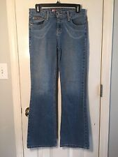 Duck Head Flare Size 7 Light Washed Blue Jeans