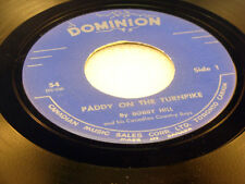 BOBBY HILL & HIS CANADIAN COUNTRY BOYS - Paddy On The Turnpike / Blackstrap Reel