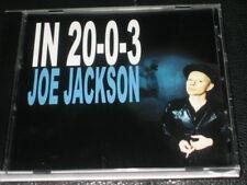 JOE JACKSON - In 20-0-3 - 1 Track DJ PROMO CD! w/ Lyrics! RARE! OOP! smoking ban