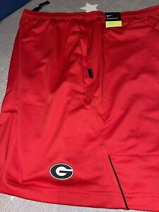Georgia Bulldogs Nike On Field 2020 Sideline Coaches Shorts XL