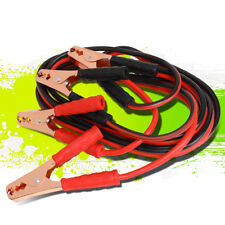 12FT 10 GAUGE BOOSTER JUMPER CABLE EMERGENCY CAR BATTERY START HEAVY DUTY 200AMP