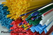 Plastique baguettes de soudage mélange de couleurs démarreur 100 pièces PP moto,