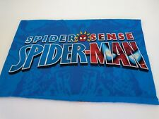 "Marvel  Spider Sense Spiderman Single Standard Pillowcase Multi Color19.5""x29.5"""