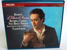 José Carreras: Donizetti: L'Elisir d'Amore, 2 CD Set, DDD, First Press, Import