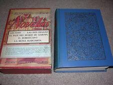 1945 Novelas de Alejandro Dumas Empresas Editorials, Mexico Text in Spanish