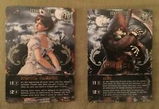 Bandai Resident Evil Deck Building Game Promo Card Nurse Rebecca and Hunk