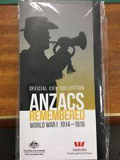2015 20c Anzacs Remembered empty commem folder.