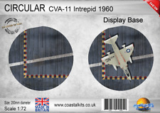 Coastal Kits Circular 1:72 CVA11 Intrepid 1960 Carrier Deck Display Base
