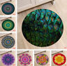 Abstract Mandala Kids Play Area Rugs Round Decor Soft Carpet Room Floor Yoga Mat