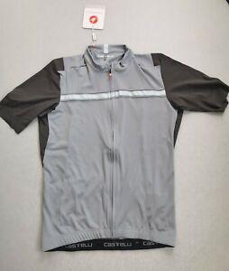 Castelli Unlimited Jersey Vortex Grey XL.