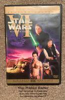 ✅ Star Wars: Ep. VI 6 - Return of the Jedi 1 Dvd: 𝐍𝐎 𝐅𝐀𝐊𝐄𝐒 𝐇𝐄𝐑𝐄 ⭐⭐⭐⭐⭐